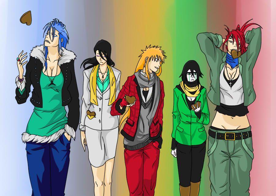 Anime Gender Bender Bleach Genderbender By Alex829 Bleach