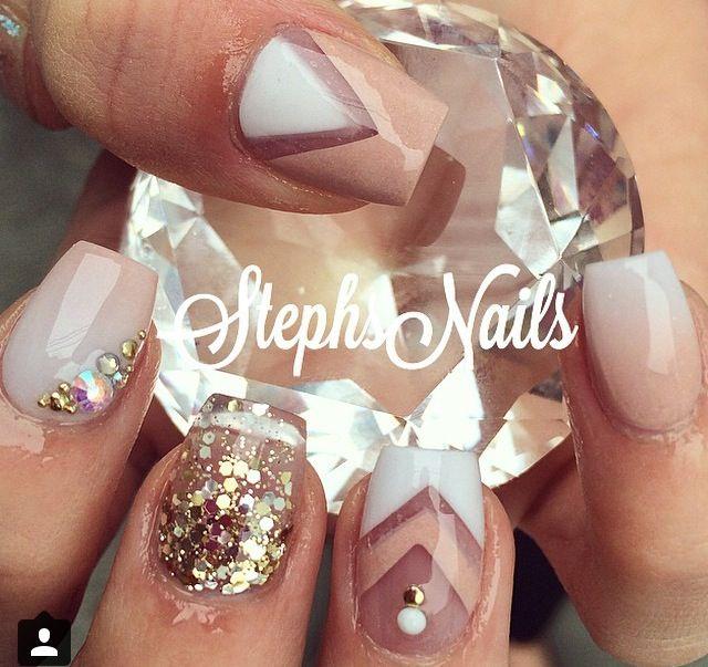Stephs nails | NAILS!!! | Uñas acrílicas, Uñas pintadas de ...