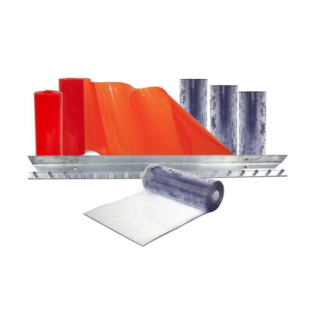 Aleco Clear Flex Ii 3 Ft X 7 Ft Pvc Strip Door Kit Door Kits