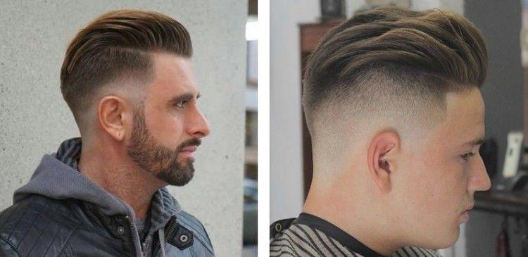 Mannerfrisuren Ubergang Undercut Nach Hinten Gestylt Coole Manner Frisuren Haarschnitt Manner Frisuren Haarschnitte