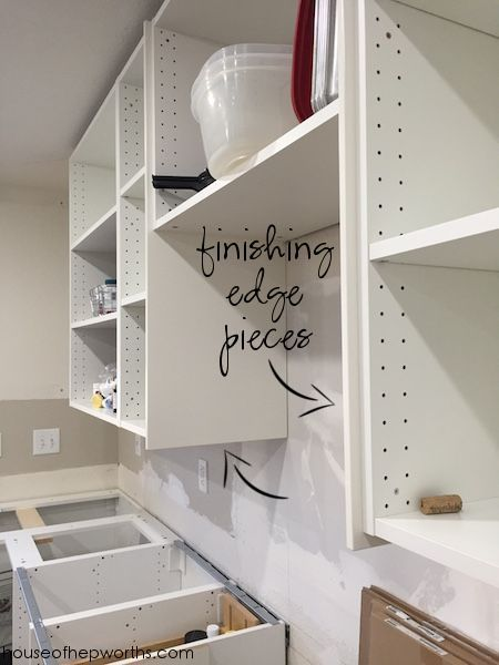 Photo of Assembling and installing IKEA section kitchen cabinets – House of Hepworths