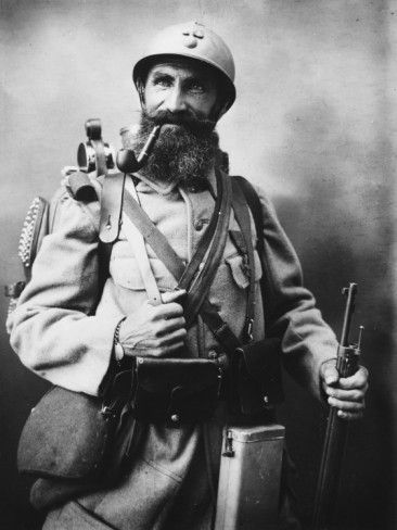 French Soldier 'Le Poilu' During World War I