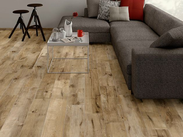 Wood Look Tile  17 Distressed  Rustic  Modern Ideas   Fake wood     ceramic tile looks like wood planks dakota flaviker jpg