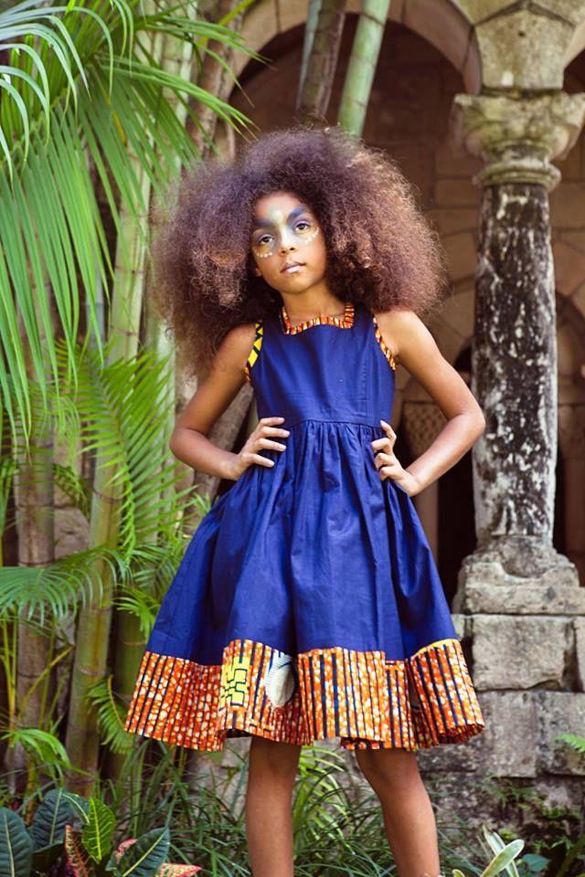 Modele Robe Pagne Pour Petite Fille