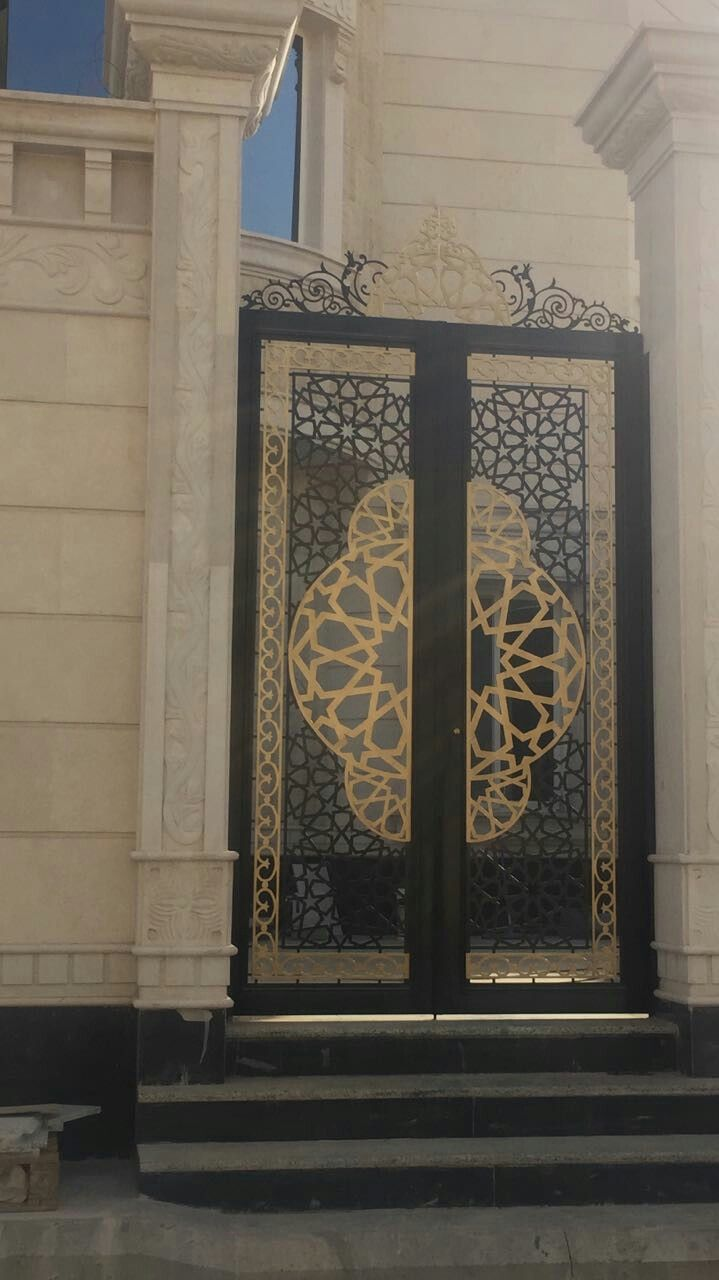 star #islamic #riyadh #door #saudi arabia #modern | Creative Metals