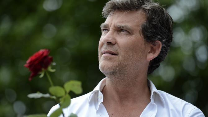 Arnaud Montebourg, lors de la précédente fête de la Rose, à Frangy-en-Bresse, le 18 août 2013. | JEFF PACHOUD / AFP