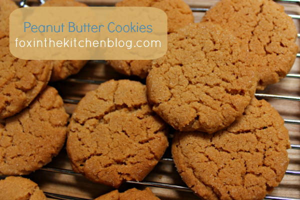Peanut Butter Cookies - With only four ingredients, these flourless cookies are super easy to make.