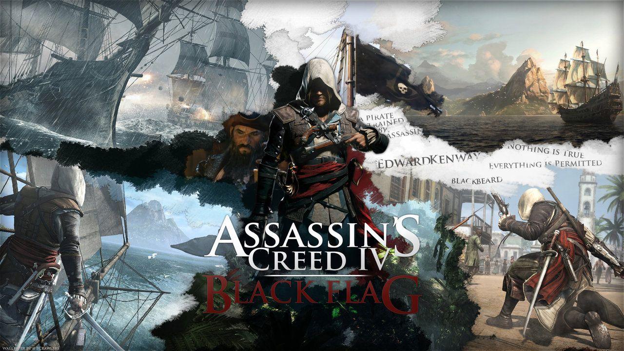 Asssassin S Creed Iv Black Flag Wallpaper By Skycrawlers Deviantart Com On Deviantart Assassins Creed Black Flag Assassin S Creed Black Assassins Creed