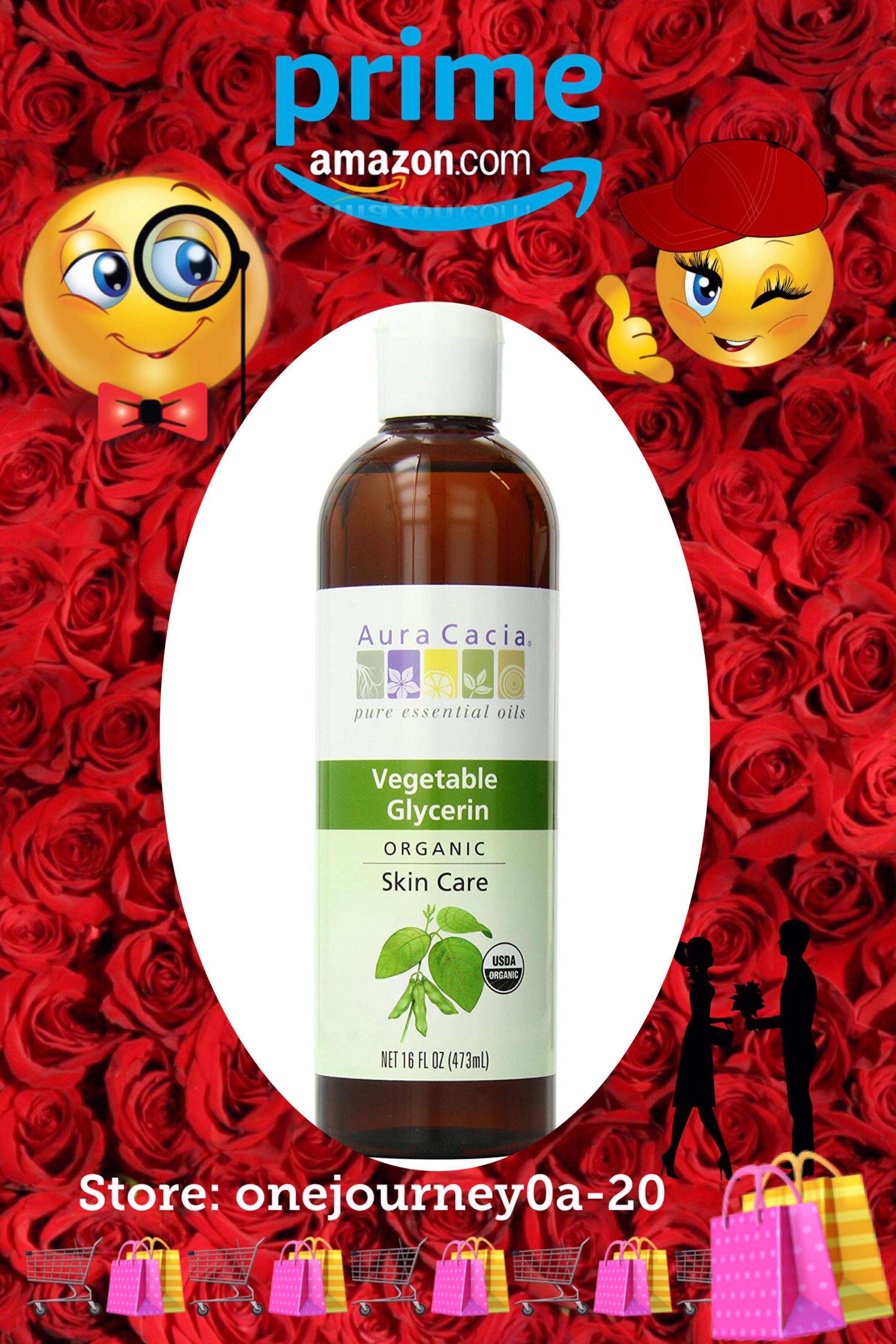 Aura Cacia Skin Care Oil Organic Vegetable Glycerin Oil Oil Skin Care Organic Skin Care Oils Pure Skin Care