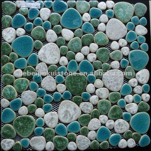 Ceramic Mosaic Tiles - Buy Kitchen Ceramic Tile,Simple Mosaic Patterns,Ceramic Pebble Mosaic Tile Product on Alibaba.com