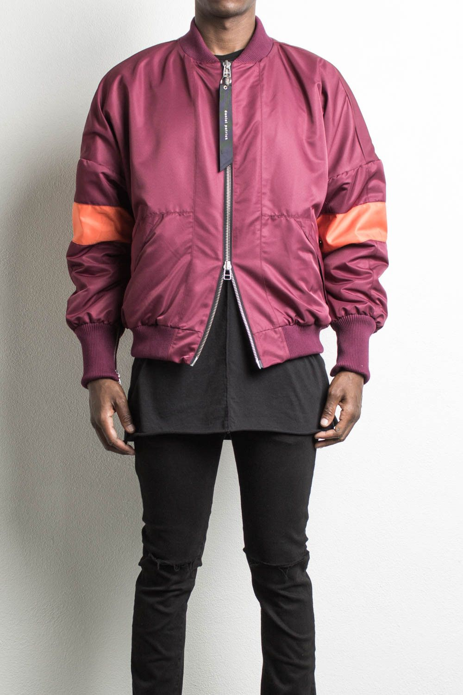 Hero Bomber V Polar Maroon Orangedesigner Streetwear Mens Bomber Jacket Bomber Jacket Men Streetwear Mens Maroon Bomber Jacket [ 1500 x 1000 Pixel ]