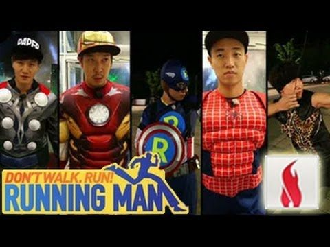 Image of: Korean Running Man Ep 150 eng Sub Avengers W Ok Taecyeon Hwang Chansung C Dramabeans Running Man Ep 150 eng Sub Avengers W Ok Taecyeon Hwang