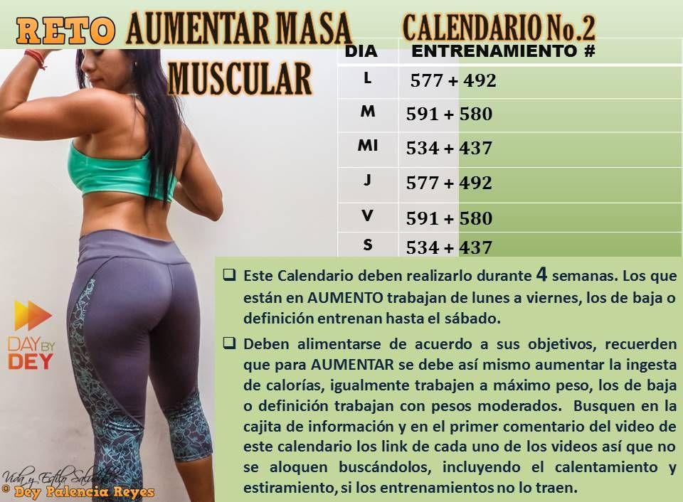 Comprimidos Para Aumentar Masa Muscular Calendario No 2 Retoaumentarmasamuscular Con Deypalenciareyes