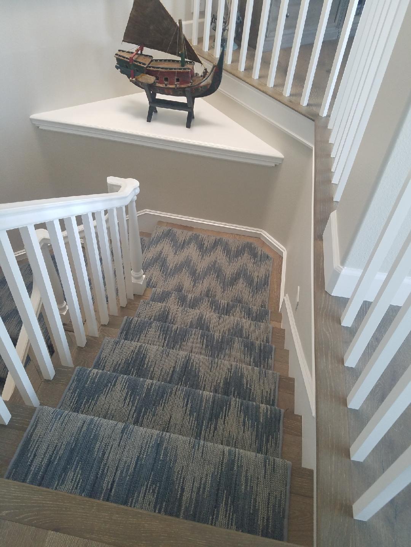 Karastan New Zealand Wool Carpet Fabricated Into A Stair Runner. Edges Are  Serged. Purchase At Hemphillu0027s Rugs U0026 Carpets Costa Mesa, CA Www.