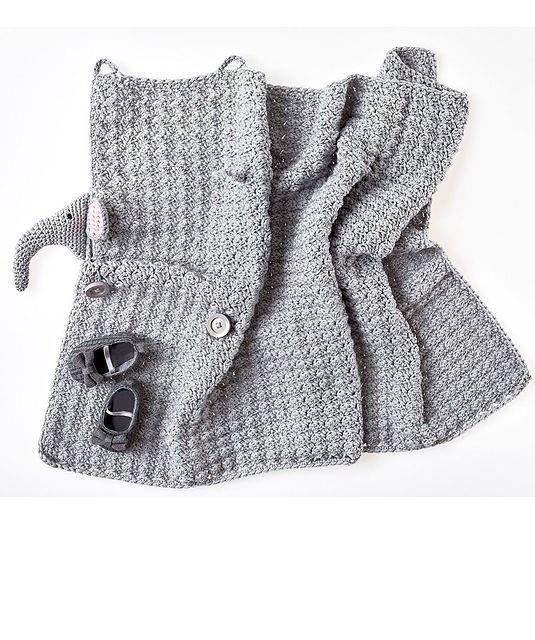 Elephant Blanket - Free Crochet Pattern