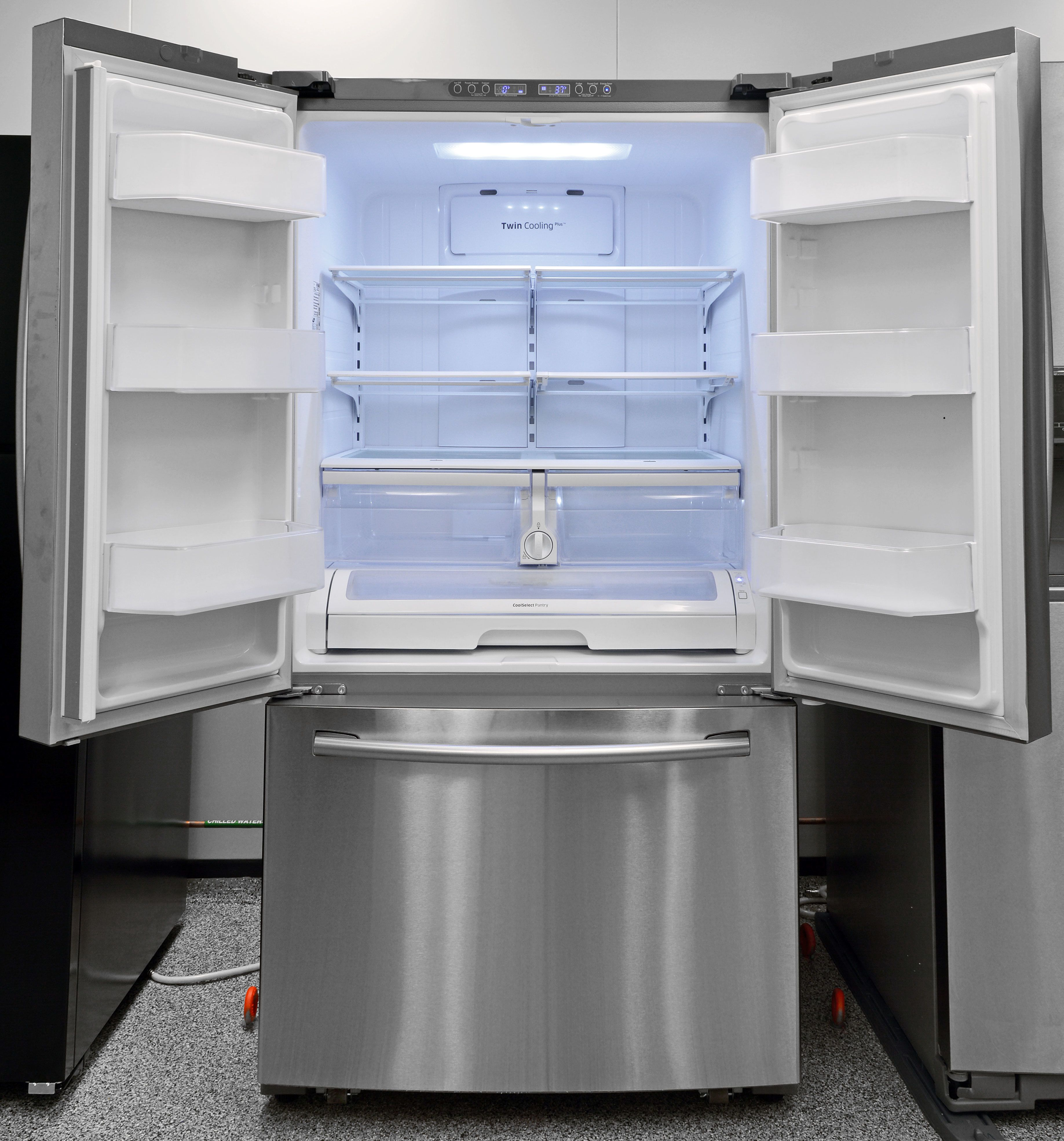 Samsung Rf260beaesr Counter Depth Refrigerator Kitchen Redo