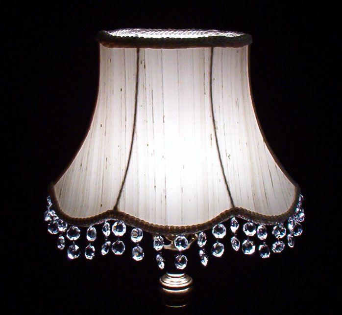 add bling to lamp shade   BABY   Pinterest   Lamp shades, Bling ...