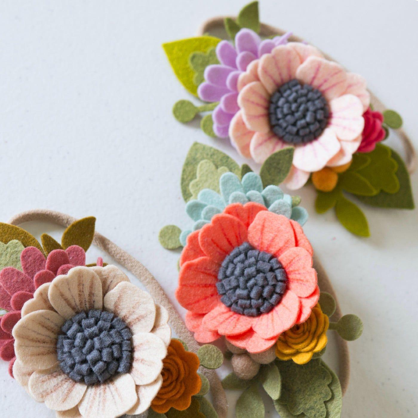 DIY Felt Flower Headband - Instagram Live #feltflowerheadbands DIY Felt Flower Headband - Instagram Live #feltflowerheadbands