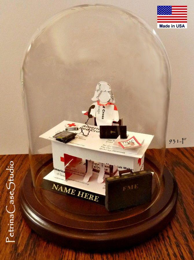 Business Executive Office Worker - Business Card Sculpture. 931-F ...