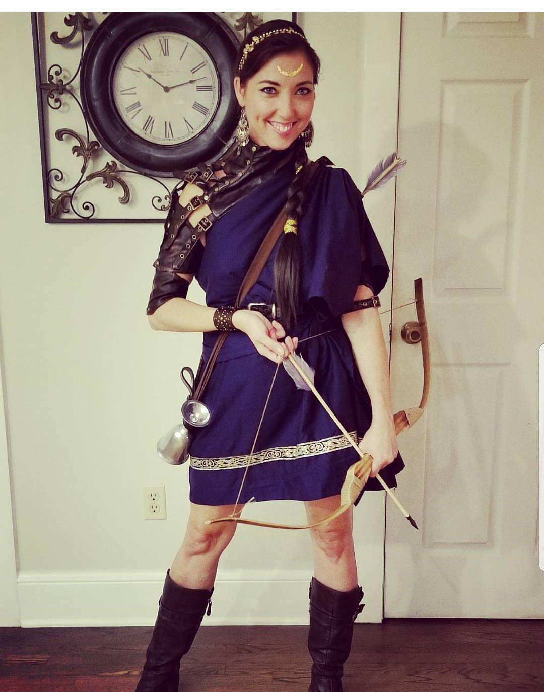 Artemis Women's Halloween Costume | Greek goddess costume ...