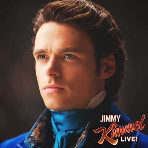 Handsome Richard Madden as Prince Charming ♥ credit to Disney on facebook