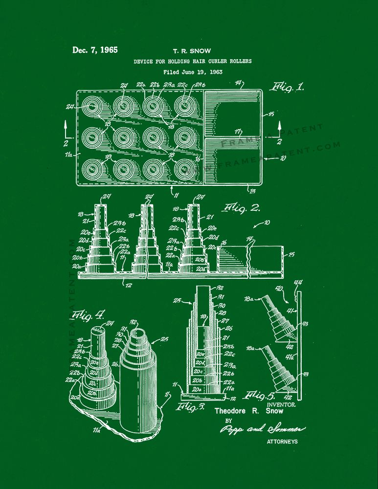 patent prints, beauty care