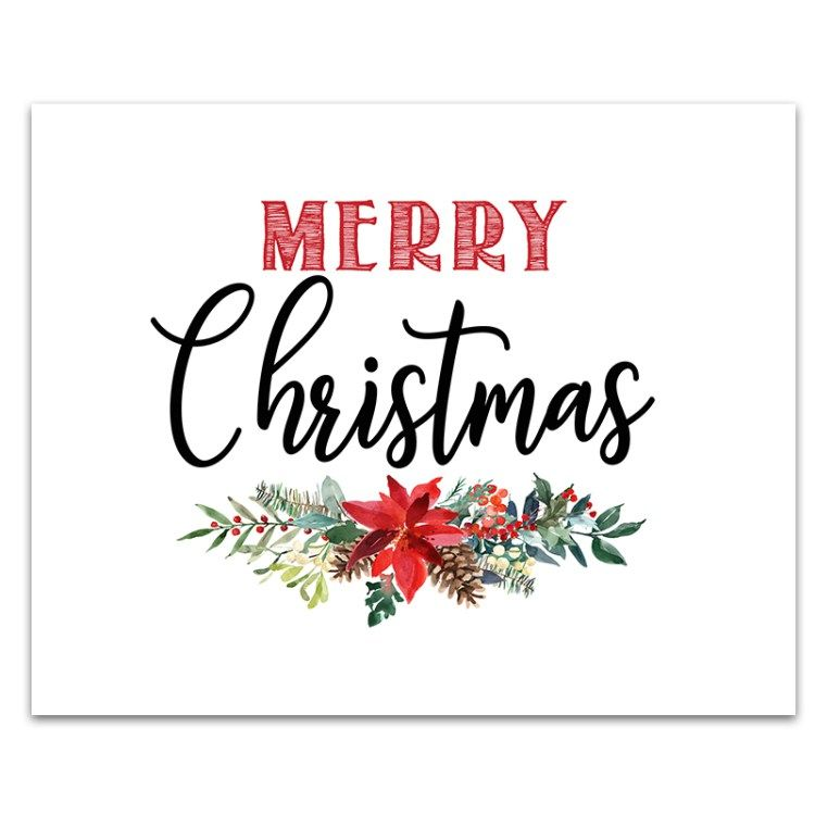 photo about Free Printable Holiday Closed Signs identified as 6 Cost-free Printable Xmas Signs or symptoms Xmas ornament