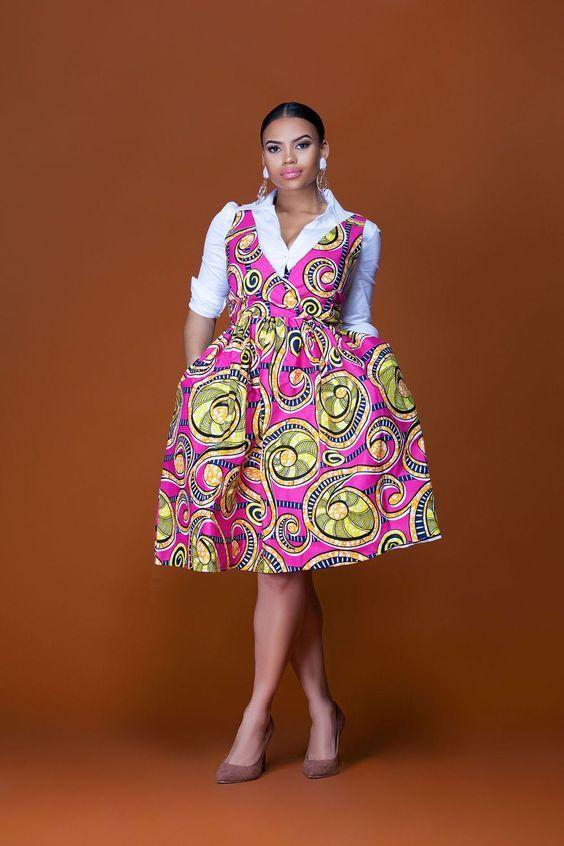 African Dresses Kitenge Image