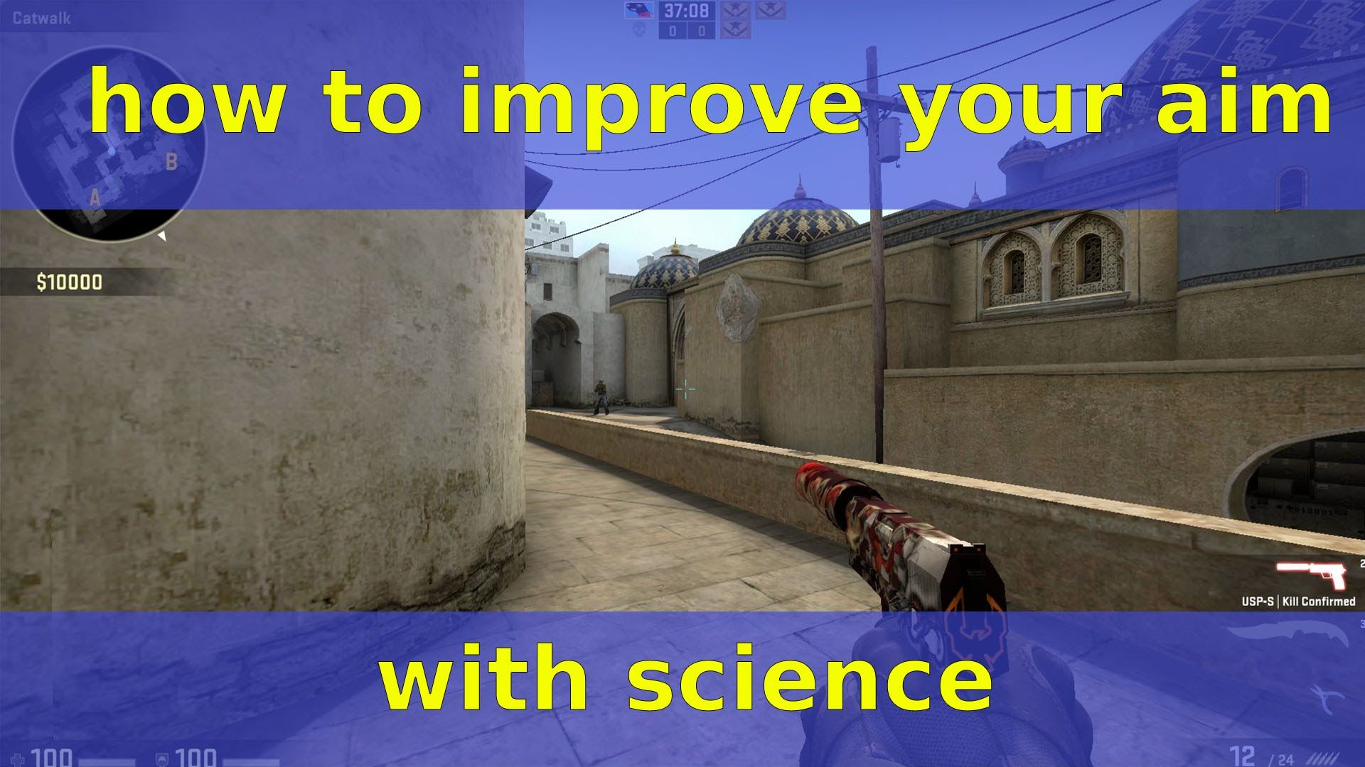 How to Improve your Aim with a bit of science #games