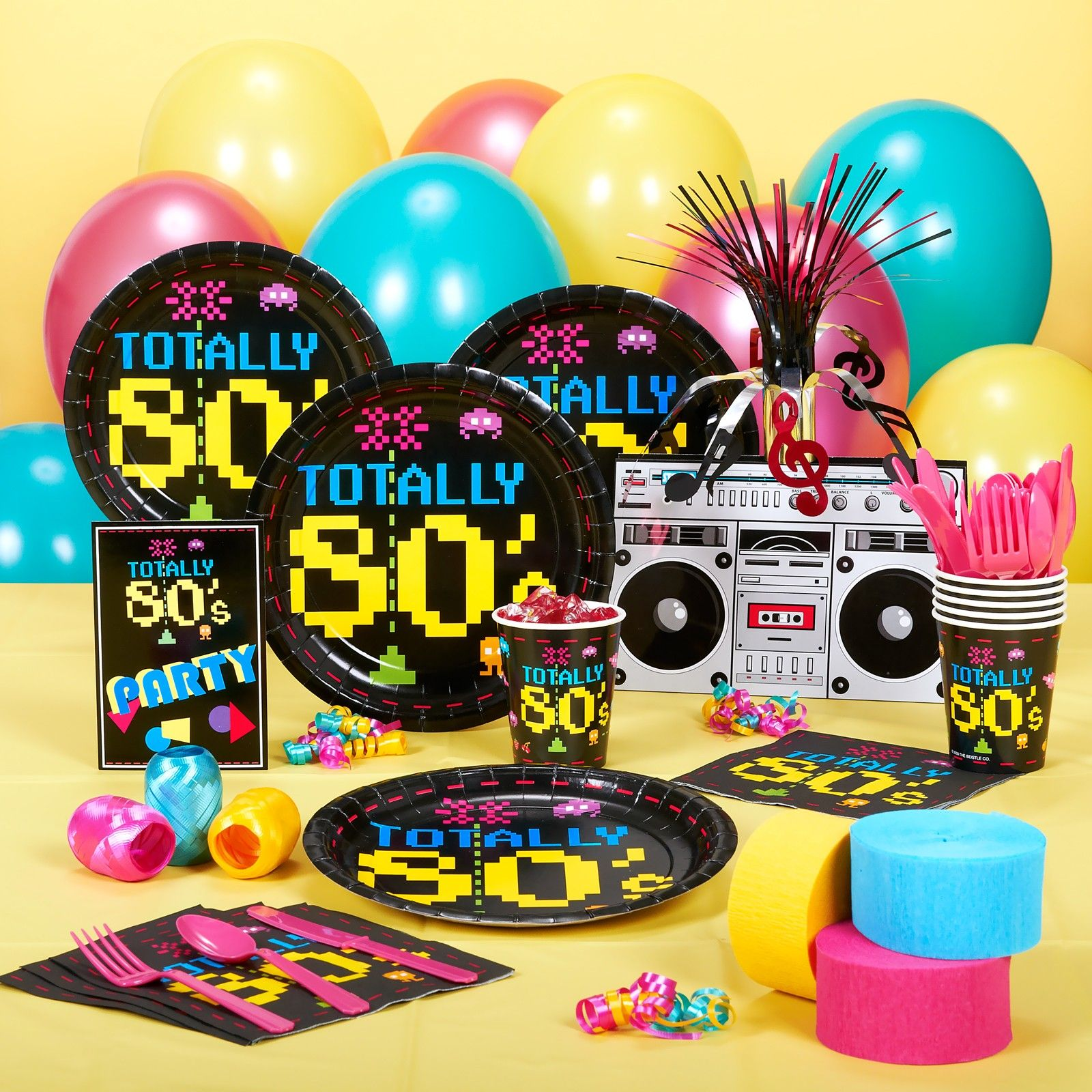 80s theme party ideas decorations