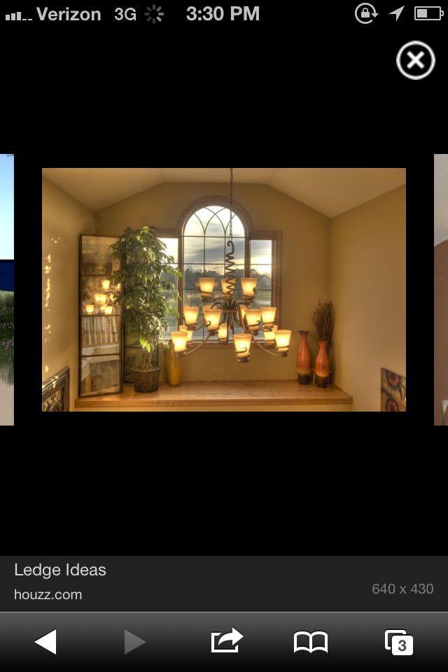 Plant ledge, barn door, window frame