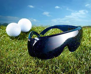 Original Gift Company Golf Ball Finder Glasses Help your favourite golfer save a small fortune in lost balls. These fantastic specs make lost balls stand out so theyre much easier to see. http://www.MightGet.com/february-2017-2/original-gift-company-golf-ball-finder-glasses.asp