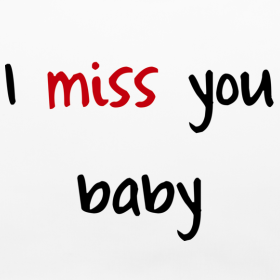 Download I Miss You Baby Quote