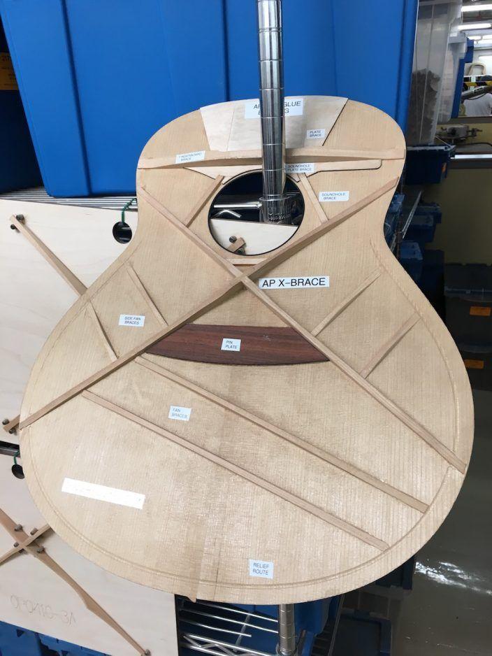 Taylor Ap Bracing Acoustic Guitar Guitar Guitar Building