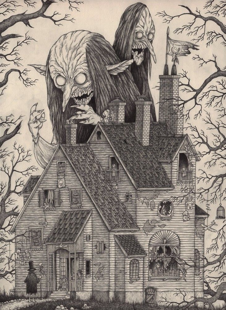 Creepy Art by John Kenn Mortensen