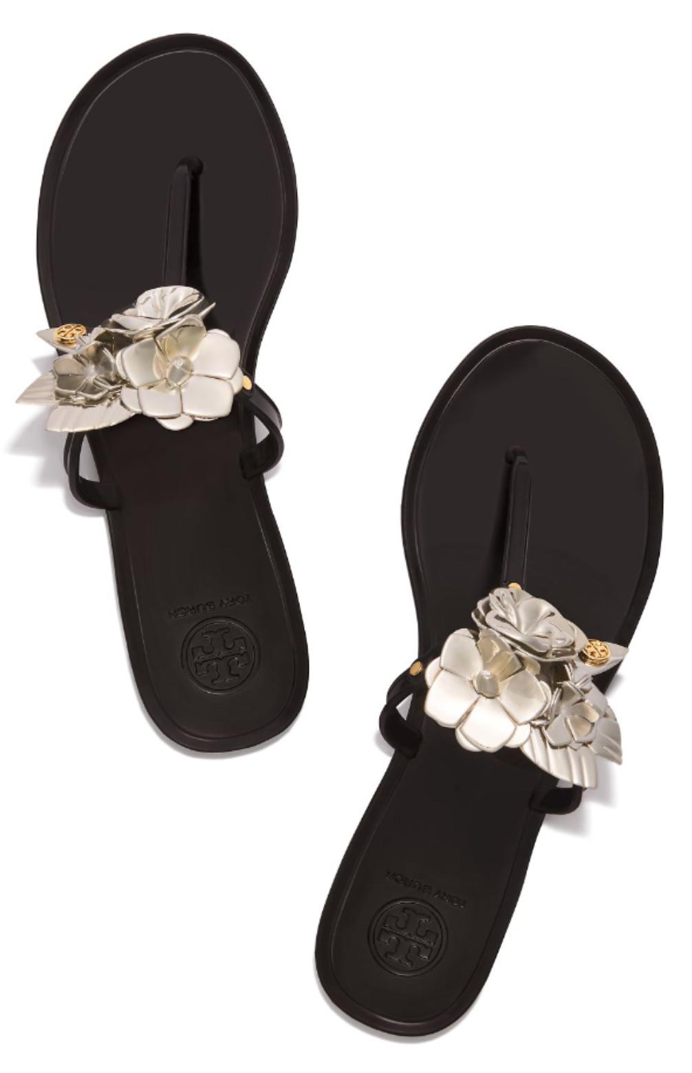 b9251dbf1 Tory Burch Blossom Jelly Thong Sandal
