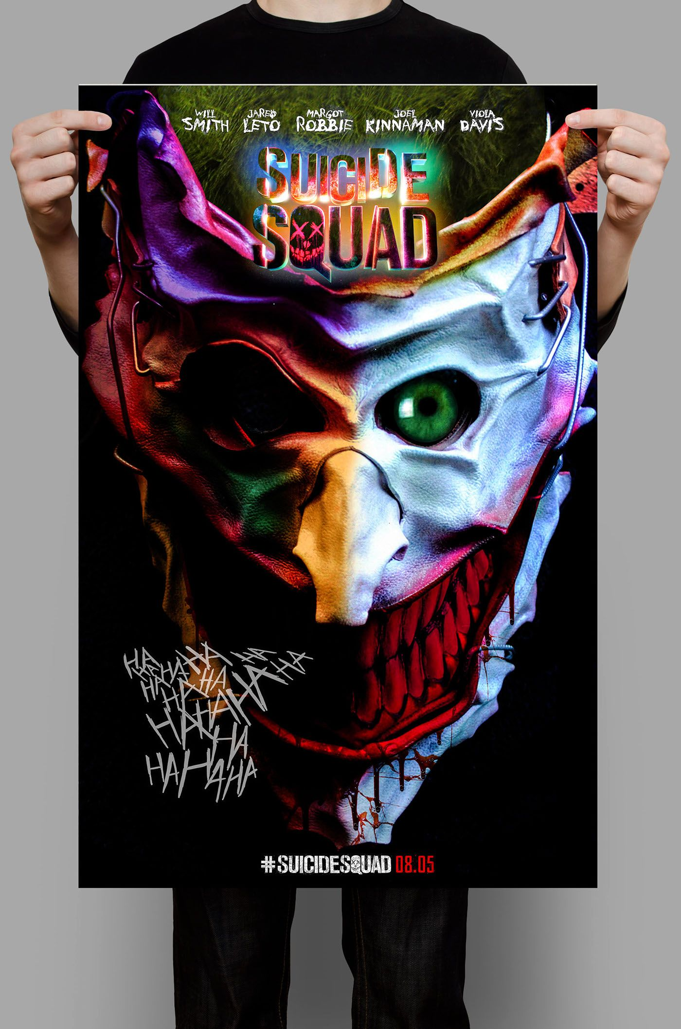 Visual art inspired by Suicide Squad on Behance