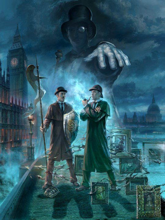 Image result for dark sherlock holmes graphics