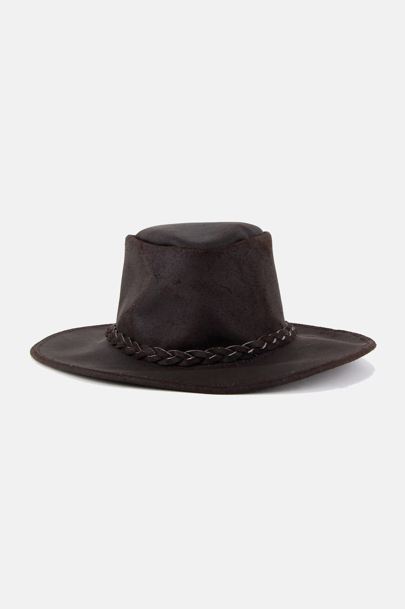 Easy Rider Leather Rancher Hat - Brown  16ea08861fd