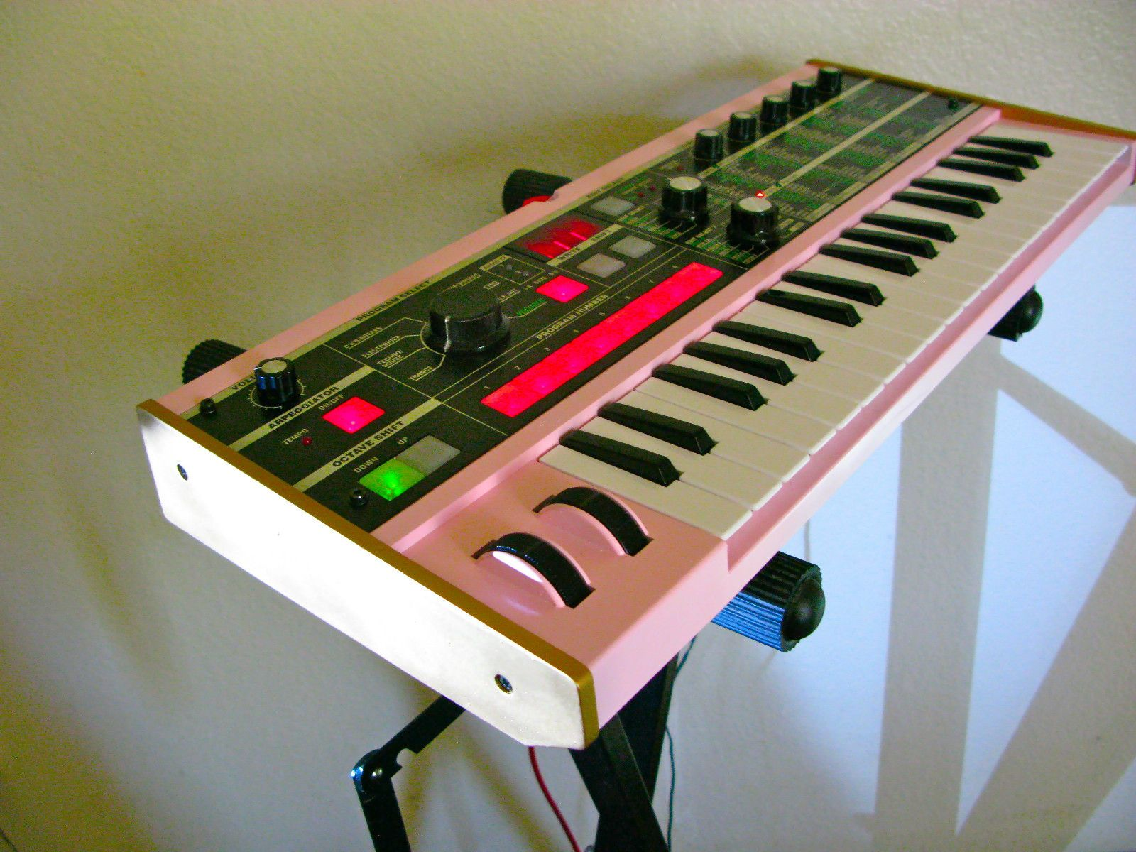 A pink Microkorg? Love the colors  | music studio in 2019