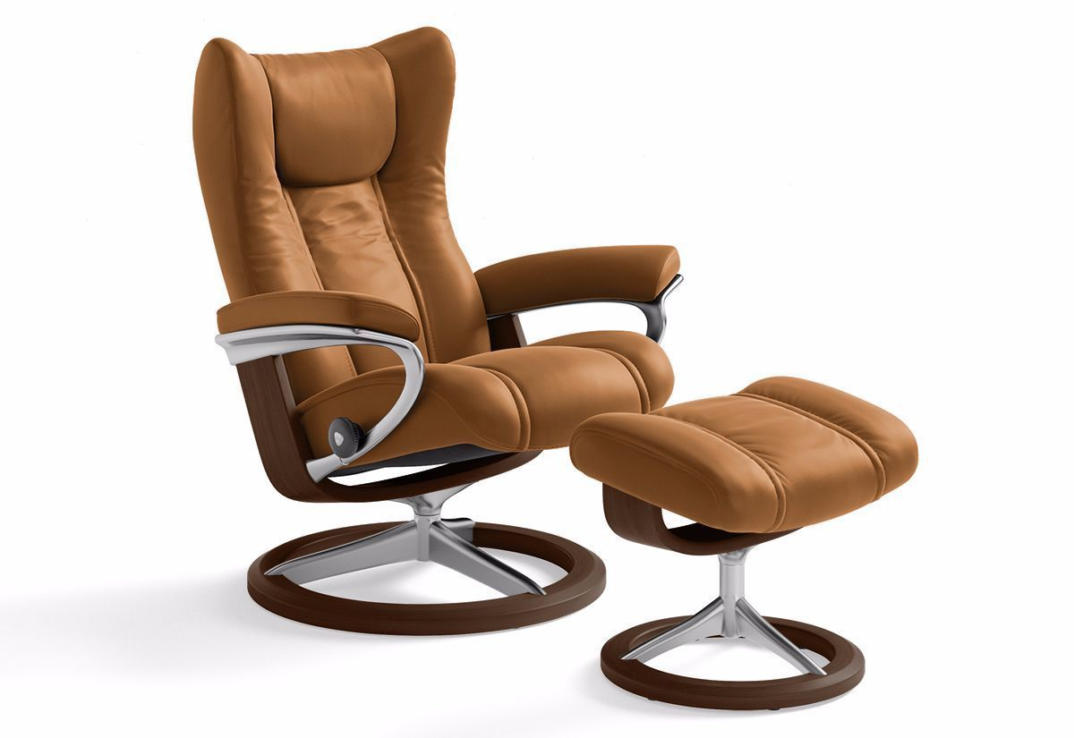 Stressless Sessel Bliss Stressless Skyline Signature Recliner Chair And Ottoman In Cori