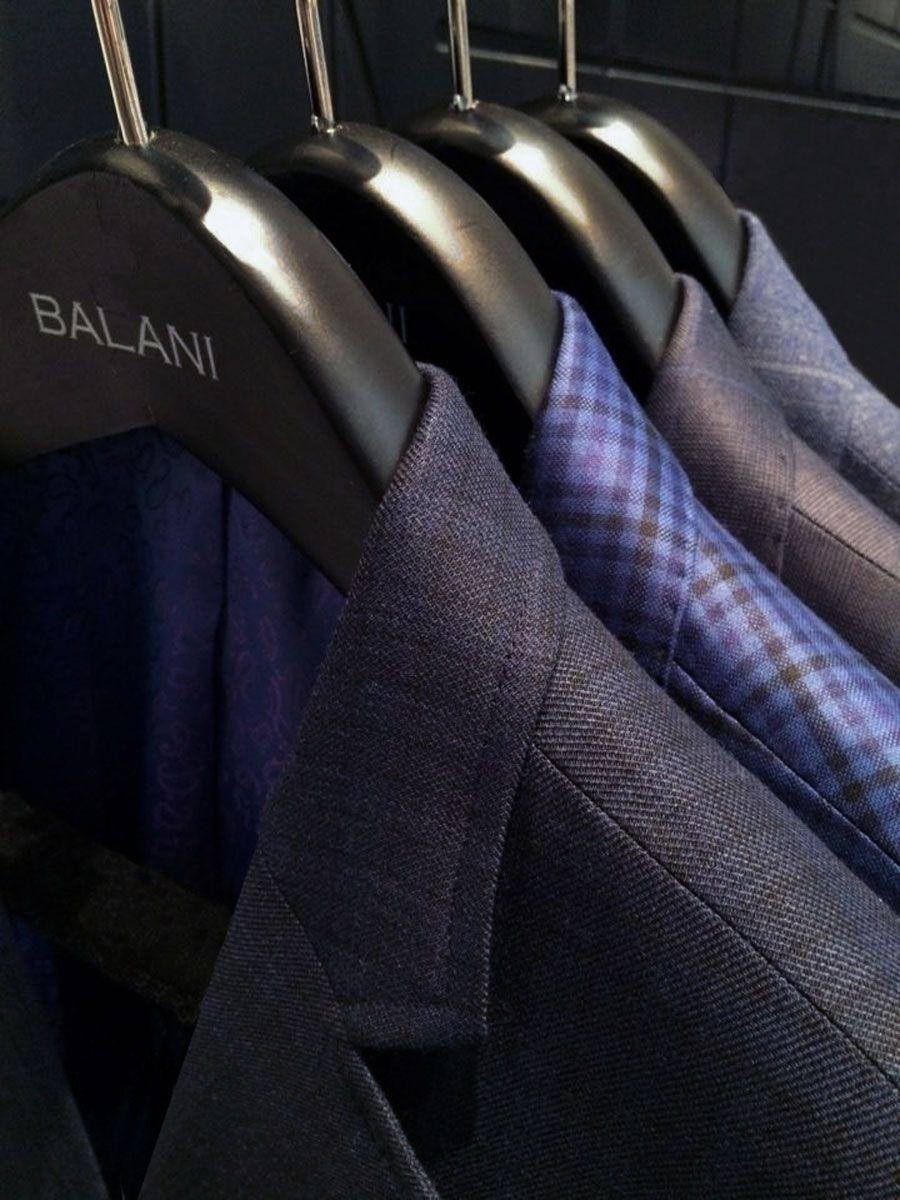 Custom-Sport-Coats-Balani-Hanger-Navy-Sportcoat-Blue-Purple-Plaid ...