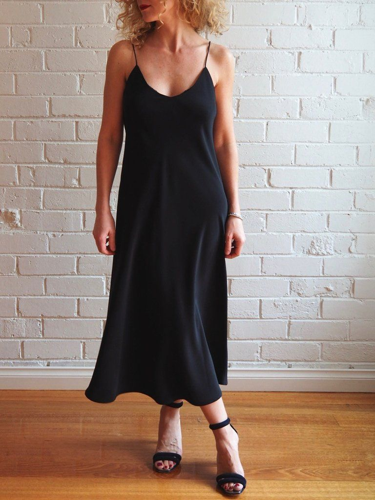 Sadie slip dress pattern online fabric stores fabric online and