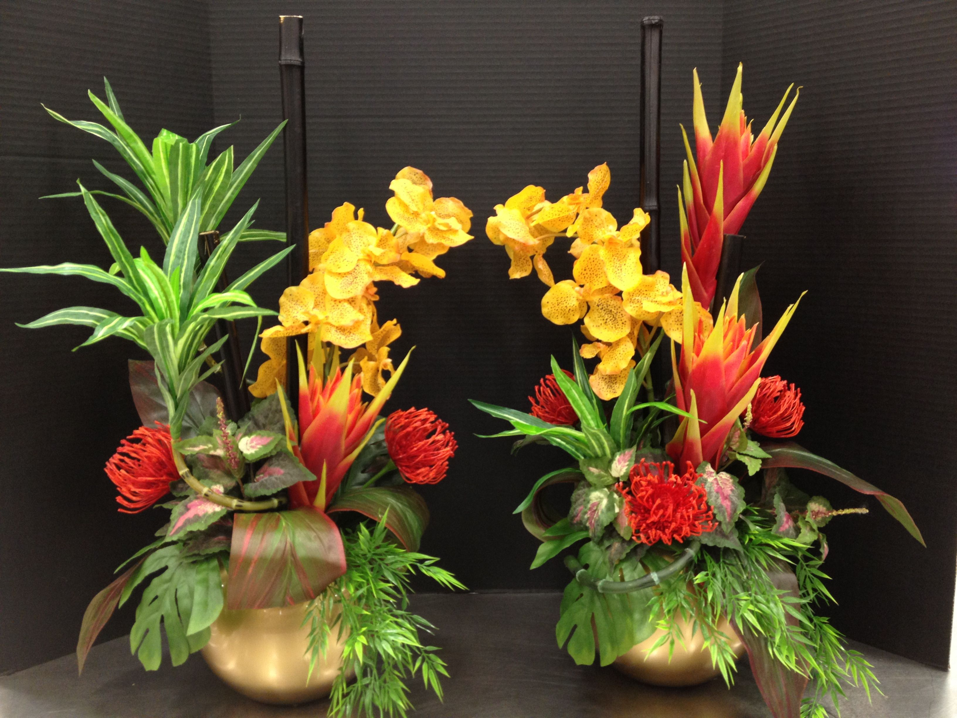 Chinese New Year 2013 (Small) Inspired Floral Arrangements Designed By