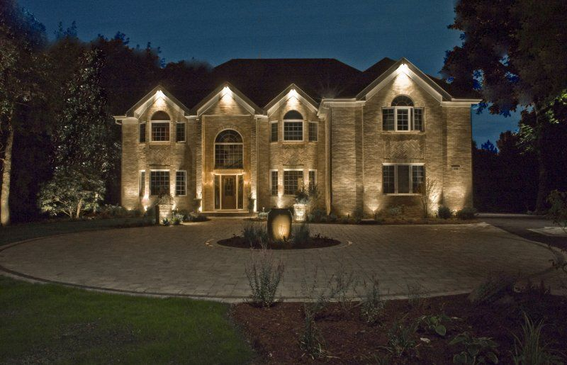 House Down Lighting Outdoor Accents In 2019