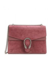 5dbc1d48e Gucci Dionysus Suede and Leather Shoulder Bag in Red | Lyst | Dress ...