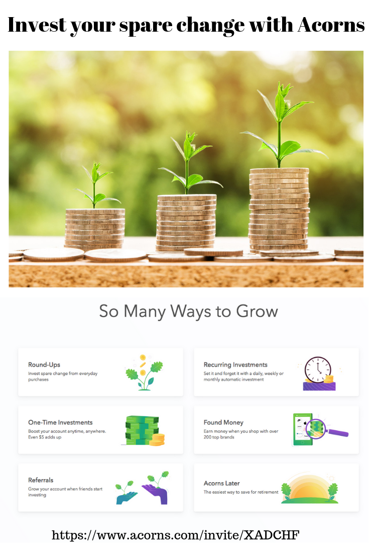 Money Makes Difference Even In >> I Use Acorns And I Can Tell You That It Works Round Up Your