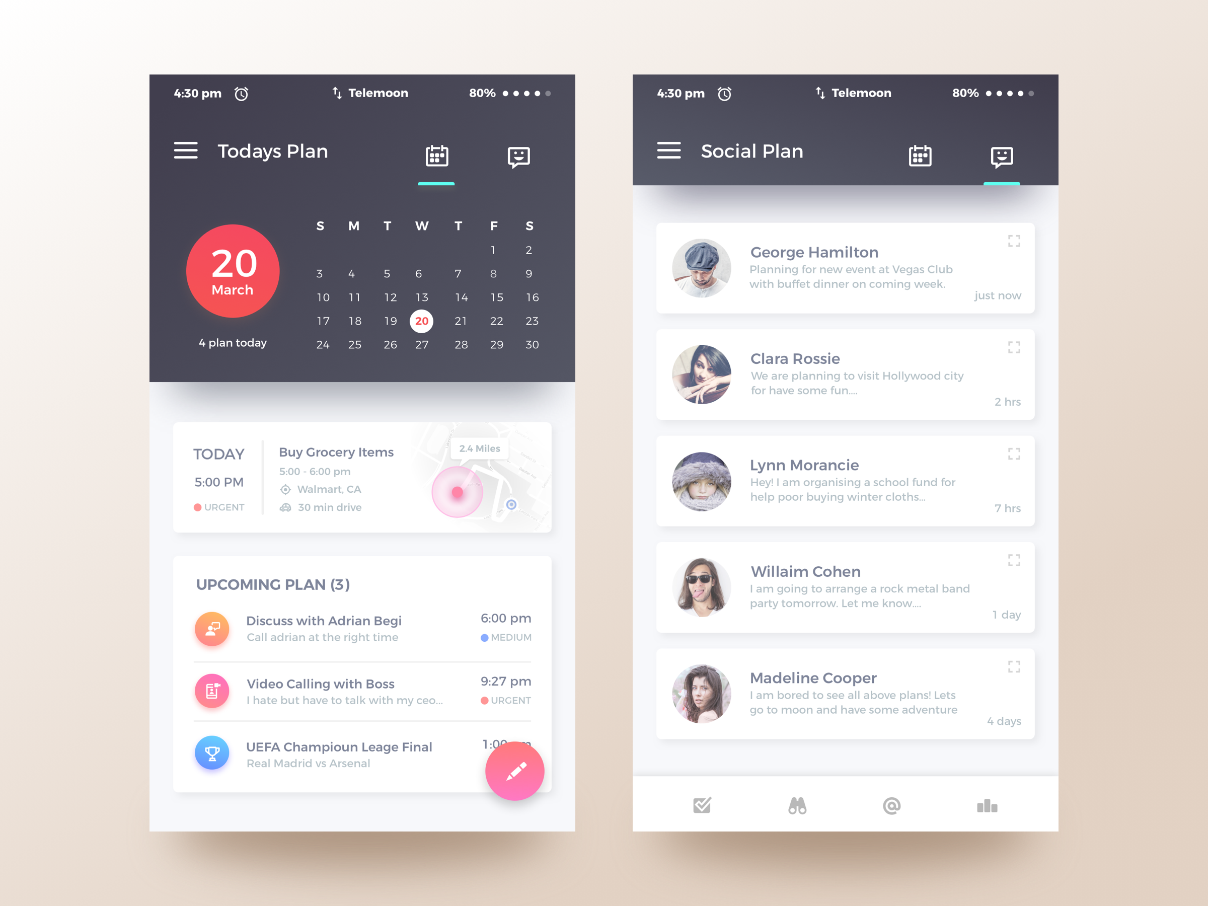 Best 25+ Calendar ui ideas on Pinterest