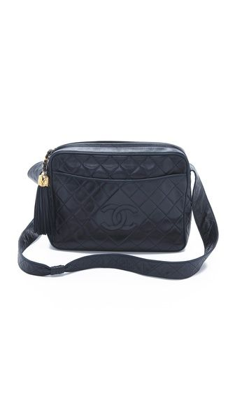 8ae55f384e8ce6 Vintage Chanel Extra Large Camera Bag | just throw it in the ...
