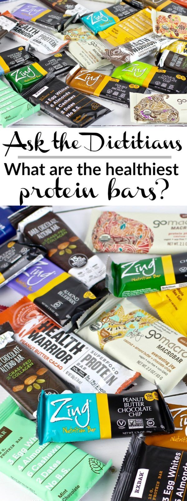 Healthiest Protein Bars? Ask the Dietitians #2   Healthy ...